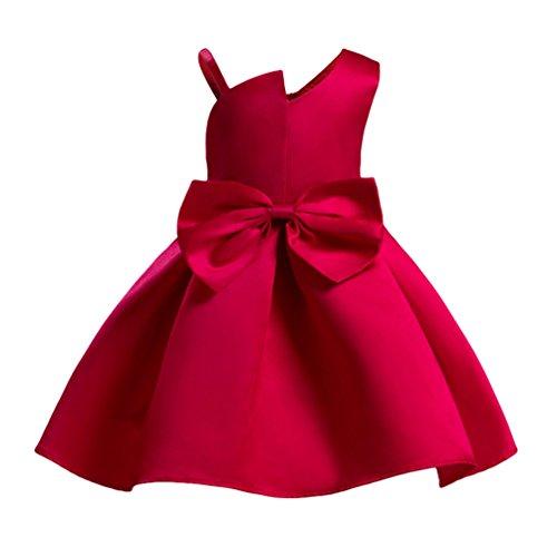 Yuandian bambine senza maniche principessa abiti eleganti for Amazon vestiti bambina
