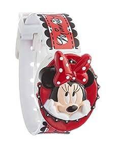 Disney Minnie Mouse - Enfant - MIN2 - Quartz Digital - Cadran Multicolore - Multicolore - Plastique