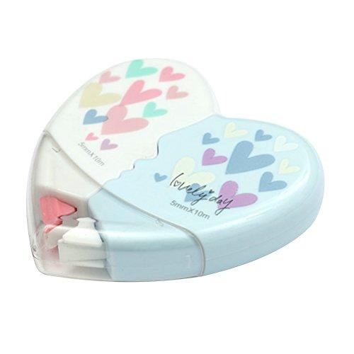 Correttore a nastro toymytoy nastri correttivi a forma di cuore 2pcs