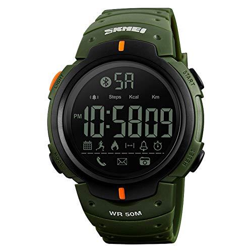 LGPNB Smart Watch Herren Damen Multifunktions Mode Sport Elektronische Uhr Bluetooth Schrittzähler Foto Information APP Anwendung Erinnerung Smart Watch (Spiegel-foto-app)