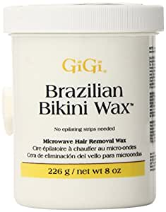 Gigi Brazilian Bikini Wax Microwave Formula, 8 Ounce