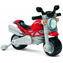 Chicco 71561 Moto Ducati Monster, Cavalcabile 2 in 1