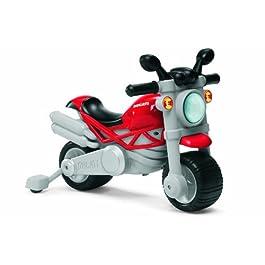 Chicco – Gioco Cavalcabile Ducati Monster, Moto, 18 mesi – 5 Anni