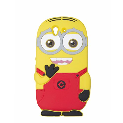 Double Eye Cute Despicable Me Minion Silicone Back Cover For SONY EXPERIA Z L36H  available at amazon for Rs.499