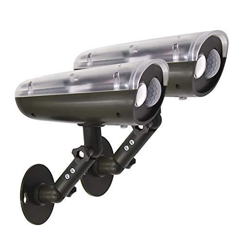 Lamparas Focos Apliques LED 3W de Solares Exterior con Detector de Movimiento...