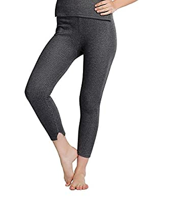 Fashiol Combo Offer Supersoft Women/Girl Thermal Lower and Free Warm Knee Cap