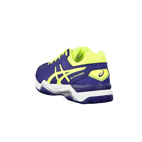 Asics Herren Gel-Game 6 Tennisschuhe Indigo Blue/Safety Yellow/Silver