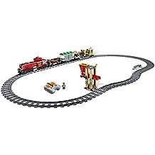 LEGO City - Tren de carga rojo con pista
