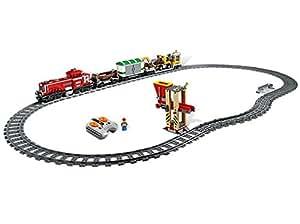 Lego City 3677 - Güterzug mit Diesellokomotive: Amazon.de