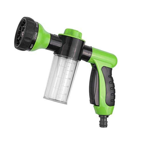 Peanutaod Schaum Wasserpistole Hochdruckreiniger Auto Wasserpistole Reinigung Schaum Sprayer Pistole für Autowaschanlage Bewässerung Duschen Haustiere (Jet-spray-spender)