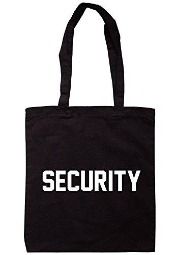 breadandbutterthreads sicurezza borsa 37,5cm x 42cm con manici lunghi Black