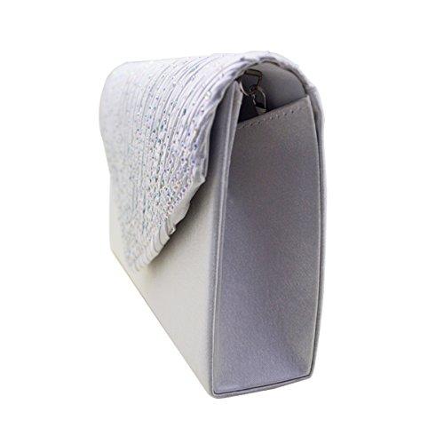AiSi - Borsetta senza manici donna Bianco (bianco)