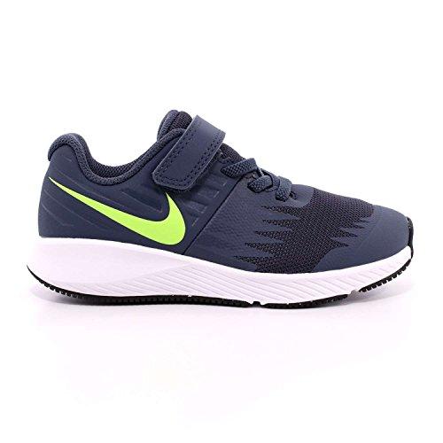 Nike star runner psv scarpe sportive bambino blu (35 eu)