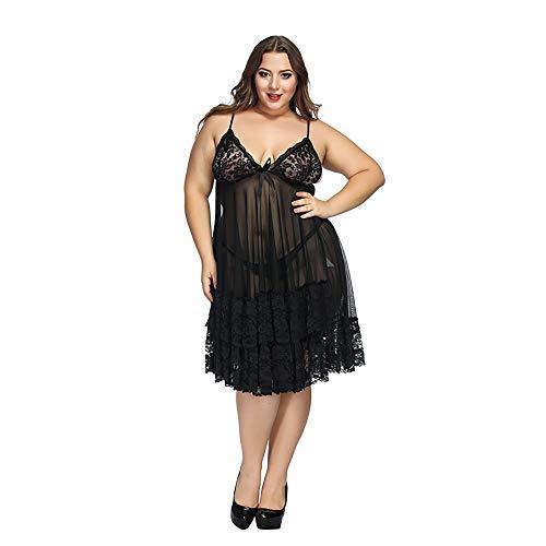 Sexy Damen V-Ausschnitt Floral Dessous Bodysuit Korsett Plus Größe Attraktive Babydoll Mesh-Perspektive Frauen Racy Unterwäsche Versuchung Unterwäsche Nachtwäsche Overalls Kleid