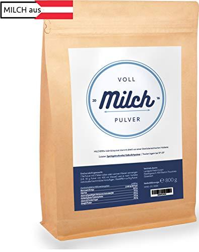 Milchpulver | MILCHEREI | Vollmilch Pulver | Regional Österreichische Qualität | 800g - Demeter-schokolade