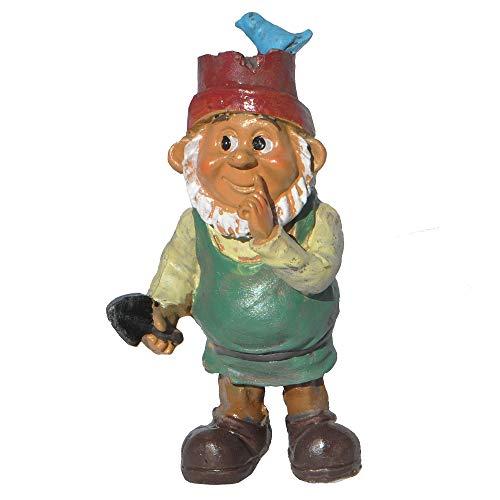 Fairy Garden Boy Gnome W/Hat-3.5