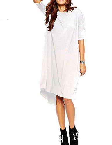 Haola Damen Lose T-Shirt Kleid Home Short
