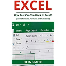 Excel: How Fast Can You Work In Excel? (Excel Shortcuts, Formulas and Functions)