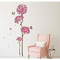 Decals Design 'Flowers Dandelion' Wall Sticker (PVC Vinyl, 70 cm x 50 cm),Multicolour