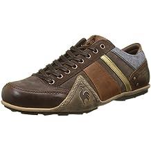 Le Coq Sportif Turin Leather/Chambray, Sneaker Uomo, Marrone (Reglisse Marron), 44 EU