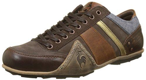Herren Turin Chambray Sneaker, Schwarz Le Coq Sportif