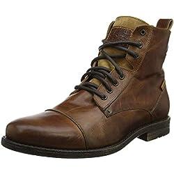 Levis Footwear and Accessories Emerson, Botas Biker para Hombre, Marrón (Medium Brown 27), 42 EU