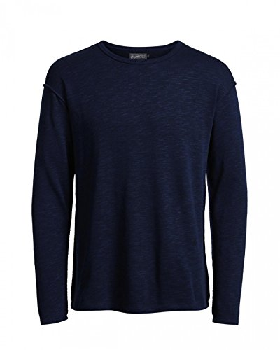 Jack & Jones Herren Sweater JORSPIN TEE LS CREW NECK Navy Blazer