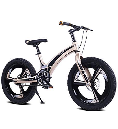 SJSF Y 24 Zoll Kinderfahrrad, Kinderfahrräder, Mädchen Und Jungen Ab 10-15 Jahre Mountainbikes 20 Zoll Kinderrad Cruiser Fahrrad Für Kinder,A