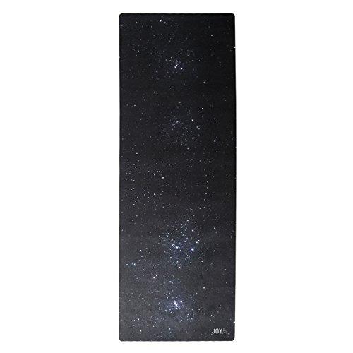 JOY in me Premium-Yogamatte FLOW Star Gazing mit Trageschlaufe Naturkautschuk rutschfest 183x63x0,3 cm