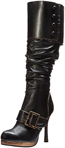 Sexy Buckle Pirate Boots Size (Pirate Womens Boots)
