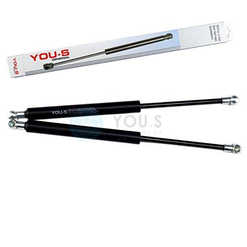 2 x YOU.S Gasfeder für Motorhaube 316 mm 580 N - 51 23 8 202 688