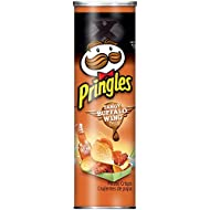 Pringles Tangy Buffalo Wings Snack de Patata - 1 lata