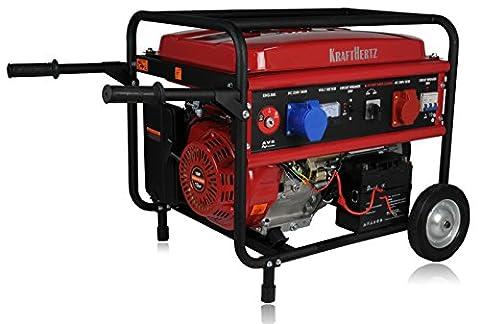KRAFTHERTZ® Diesel Stromerzeuger Generator 5500 Watt ( 5,5 kW ) DIESELAGGREGAT 1 & 3 Phasen (Benzin 5,5 kW 3 Phasen)