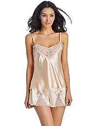 Sexy Pyjamas Braces Shorts Sous Vêtements Pyjamas Pour Femme Babydoll Lingerie