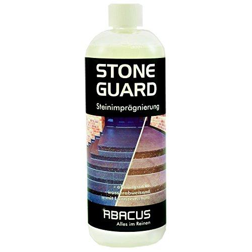 Abacus Stone Guard 1000 ml (2625) - Steinversiegelung Betonversiegelung Steinimprägnierung Wasserabweiser Naturstein Kamine Balkone Terrassen Versiegelung Imprägnierung Abperleffekt Regenabweiser