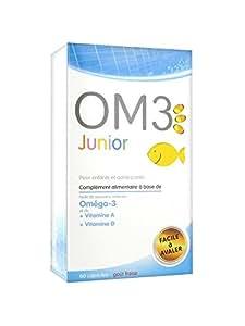 Super diet - Om3 junior - 60 capsules - Concentration, équilibre émotionnel
