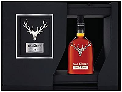 Dalmore 25 Year Old Single Malt Scotch Whisky 70cl Bottle