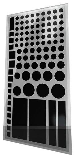Lightdims Black Out-Edition - Lichtblockierende Led Abdeckung Für Router, Elektronikgeräte, Haushaltsgeräte, Und Mehr. Blockiert 100% Licht, In Umweltfreundlicher Verpackung.