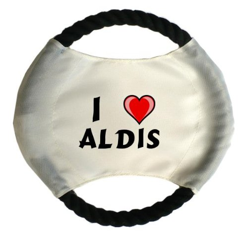 personalised-dog-frisbee-with-name-aldis-first-name-surname-nickname