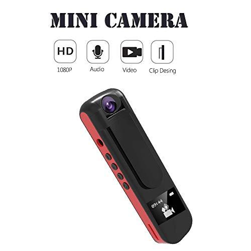 Yunbai Sound Audio Recorder, 1080p Full HD 180-Grad-Kamera-Audiovideoaufzeichnung Voice Recorder Pen Camcorder MP3-Player Mini Cam Unterstützung 64GB-Karte