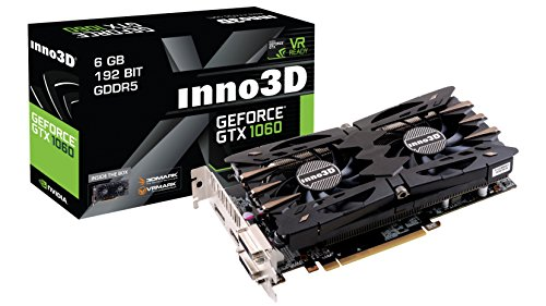 Preisvergleich Produktbild Inno3D N106F-2SDN-N5GS - GeForce GTX 1060 TwinX2,  6GB,  Dual DVI,  HDMI+DP