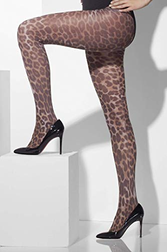 Leoparden Leggins Strumpfhose Leopard sexy - Leopard Kostüm Strumpfhosen
