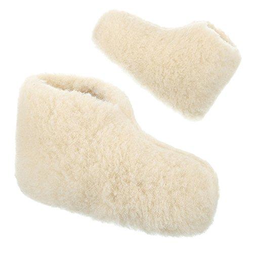 Damen und Herren Schuhe, PAN-1-104, HAUSSCHUHE Weiß