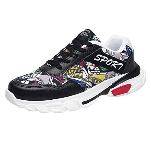GiveKoiu Uomo Scarpe da Corsa Ginnastica Running Respirabile Corsa all'aperto Sneakers Sportive Outdoor Tennis Basse