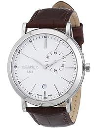 Roamer Herren-Armbanduhr Vanguard Analog Quarz Leder 934950 41 15 05