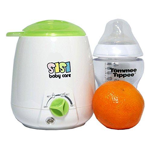 SisiBaby (SBC-201) Haus Babykostwärmer SisiBabyCare mit Sterilisator Flaschenwärmer