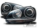 AuCo Scheinwerfer Schwarz GTI Look Xenon Optik