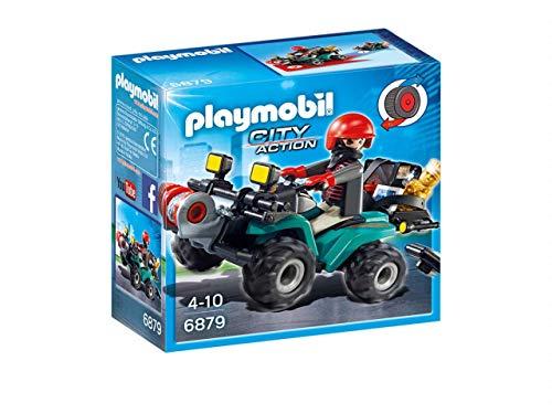 Playmobil City Action Ladrón con Quad y Botín 6879