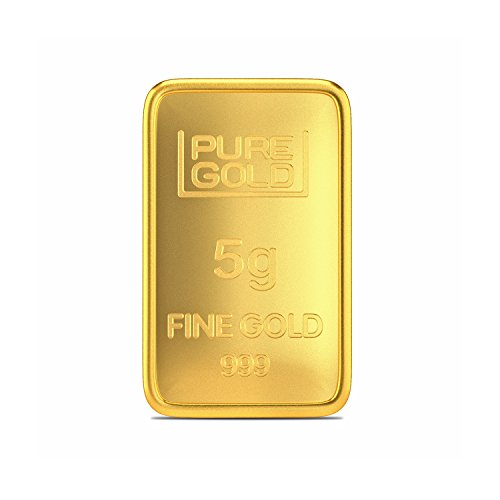 Joyalukkas Assayer Certified 5 gm, 24k (999) Yellow Gold Precious Bar