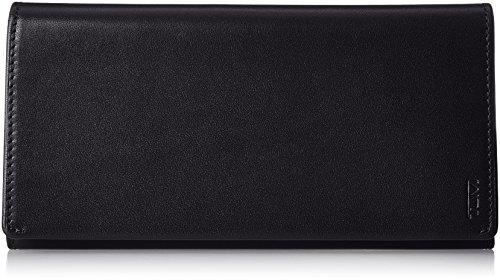 Tumi Nassau Münzbörse 0126143D, 19 cm, Black Smooth